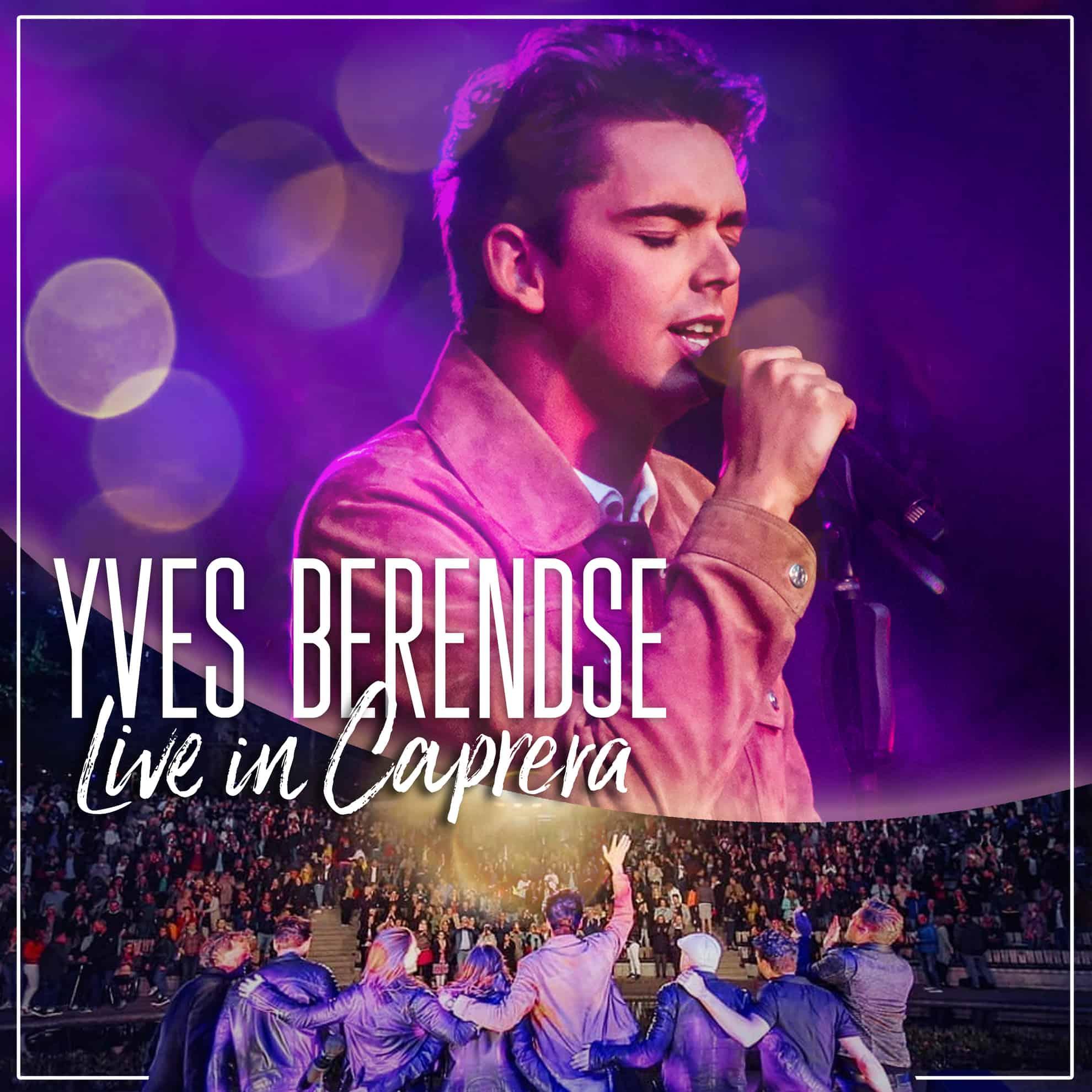 Albumhoes van 'Yves Berendse - Live in Caprera'